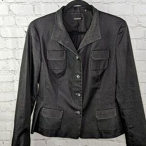 Tahari button front blazer